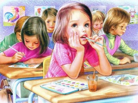 Школа рисования для детей от 2,5 до 10 лет